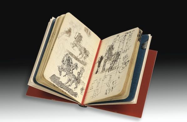 Sotheby's Paris Auctions Salvador Dalí's Diary