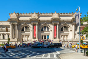 A photo of the Metropolitan Museum of Art.