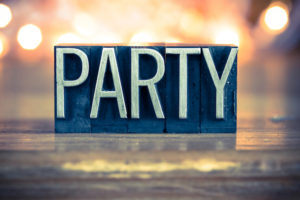 "An image with the word ""party."""