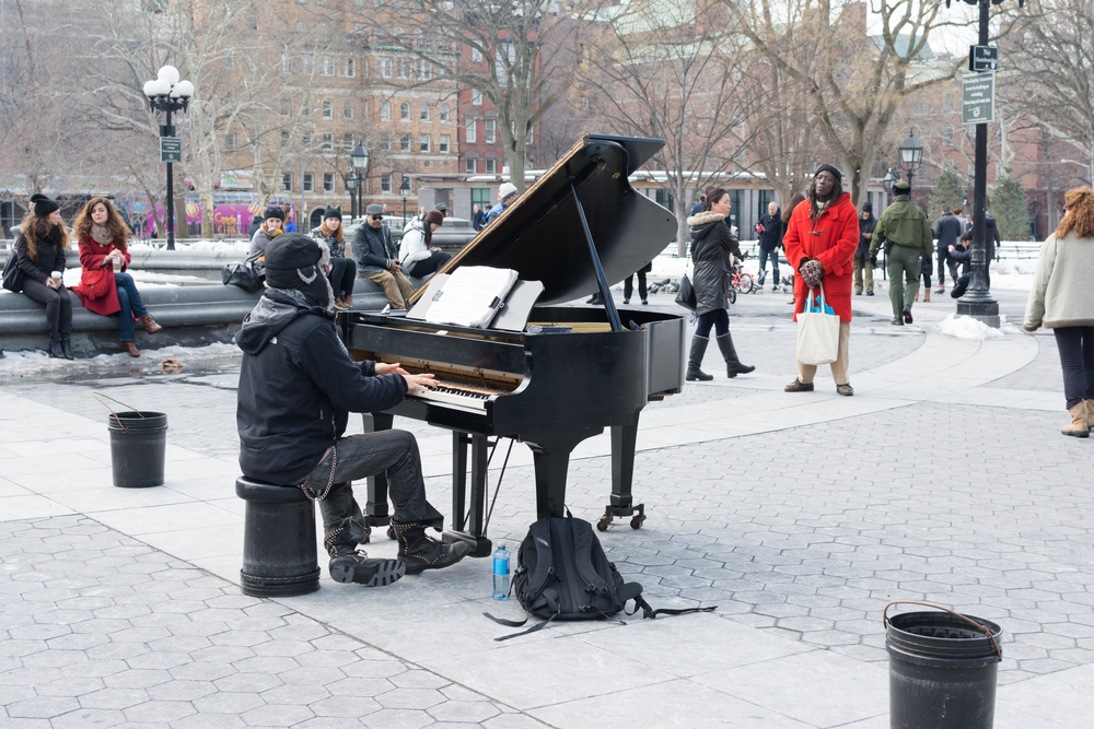 60 Public Pianos to be Placed Throughout NYC