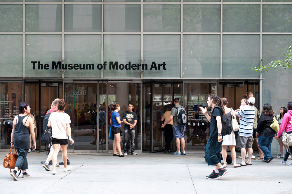 The Museum of Modern Art (MoMA), located in Manhattan, NY.