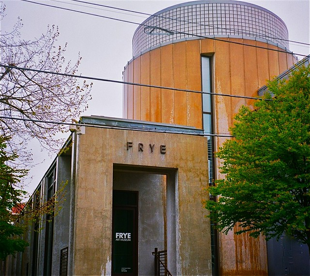 A photo of the Frye Art Museum in Seattle.